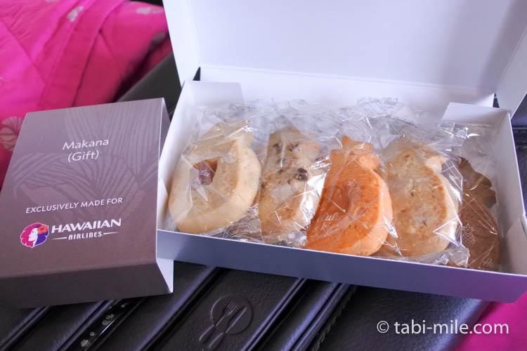 ハワイアン航空 ビジネスクラスお土産クッキー1