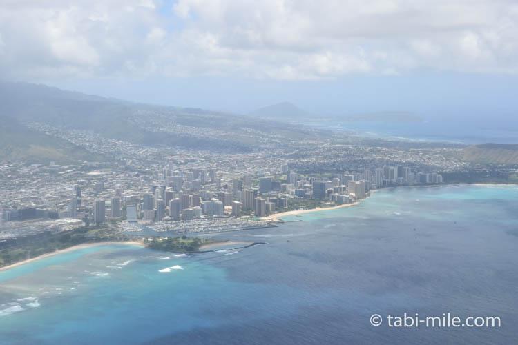 ハワイアン航空ホノルルからハワイ島へのフライト54