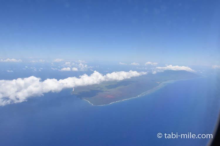 ハワイアン航空ホノルルからハワイ島へのフライト58