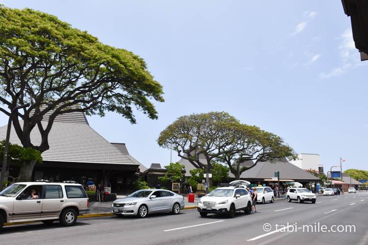 ハワイ島コナ空港入り口