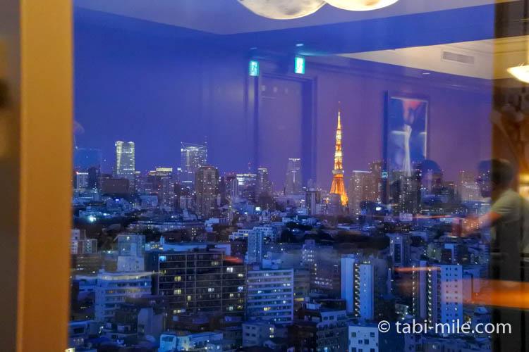 ウエスティンホテル東京エグゼクティブクラブルームからの景色