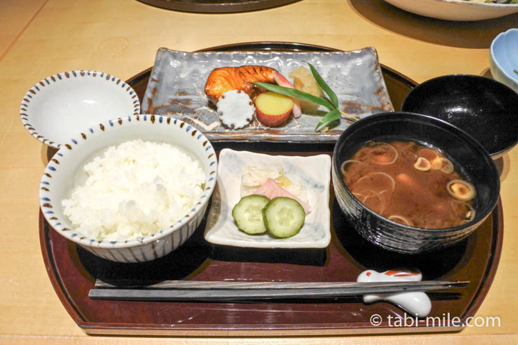 ウエスティンホテル東京舞の魚御膳