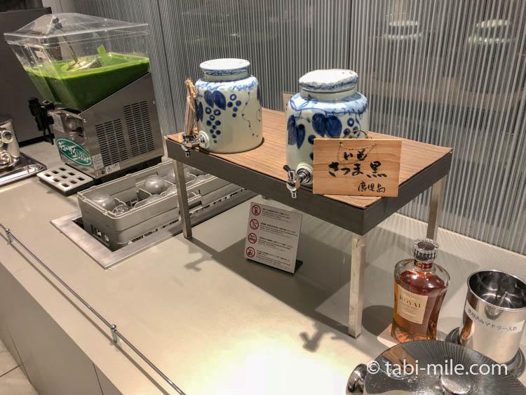 福岡空港ANAラウンジ芋焼酎