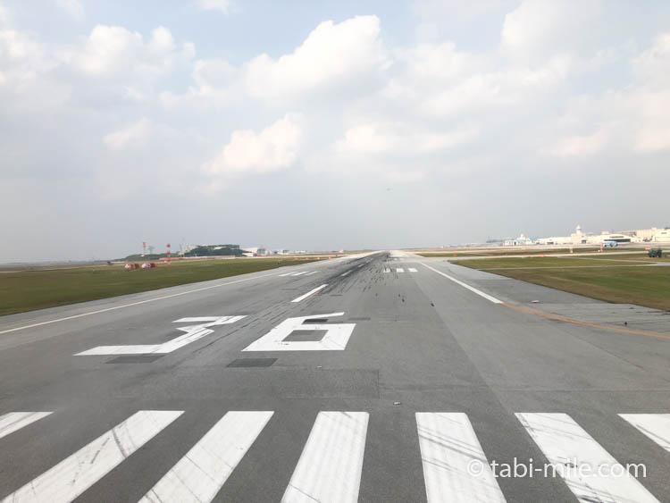 広島空港滑走路