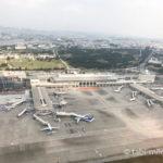 広島空港空港上空からの写真