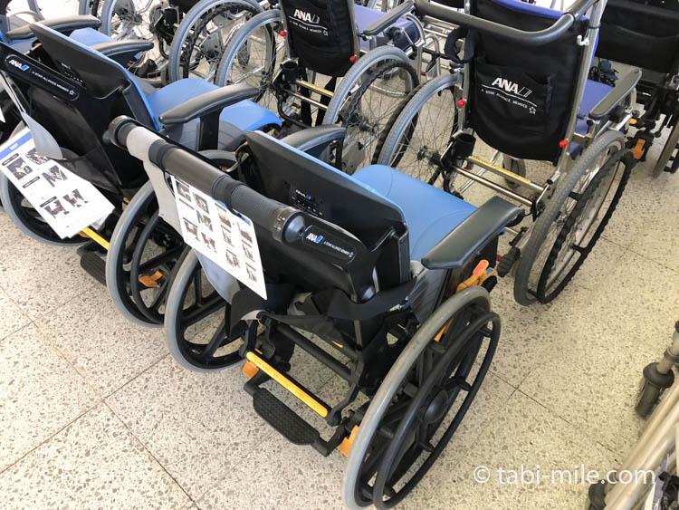 ANAの金属を使わない車椅子