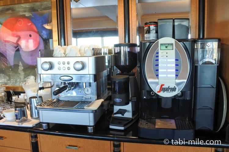 ウェスティンホテル東京 エグゼクティブクラブラウンジ ライトスナック コーヒー