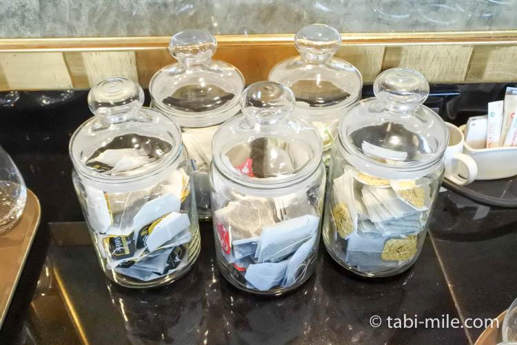 ウェスティンホテル東京 エグゼクティブクラブラウンジ ライトスナック 紅茶