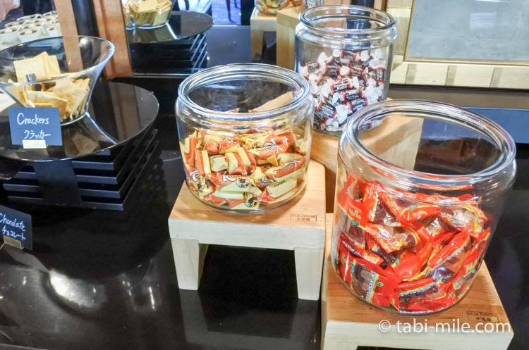 ウェスティンホテル東京 エグゼクティブクラブラウンジ ライトスナック チョコレート