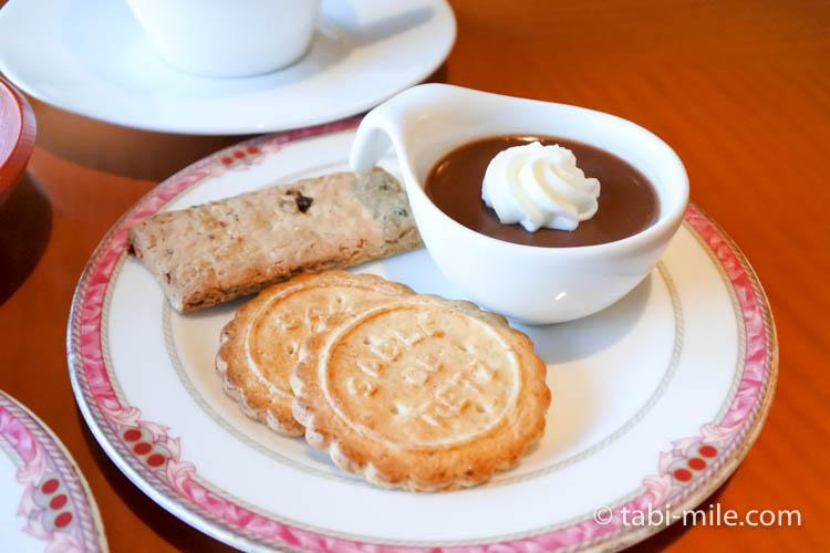 ウェスティンホテル東京 エグゼクティブクラブラウンジ ライトスナック クッキー