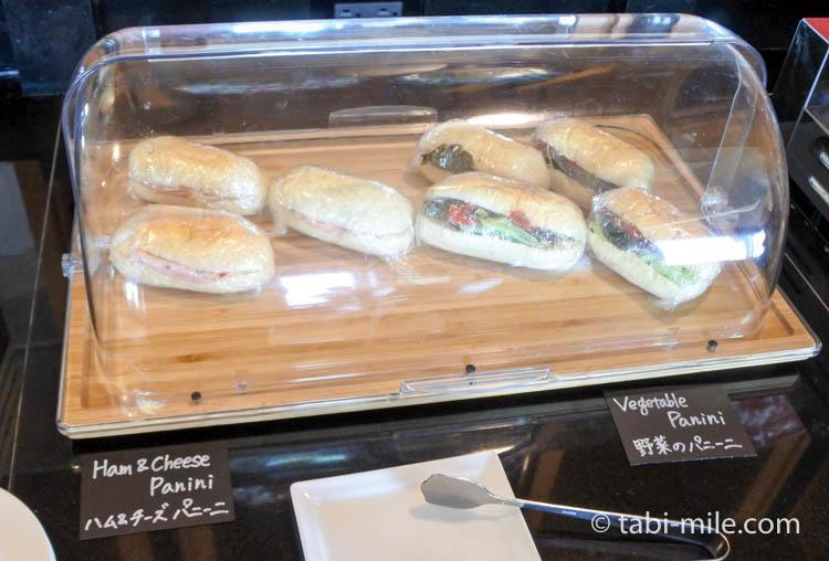 ウェスティンホテル東京 エグゼクティブクラブラウンジ ライトスナック サンドイッチ
