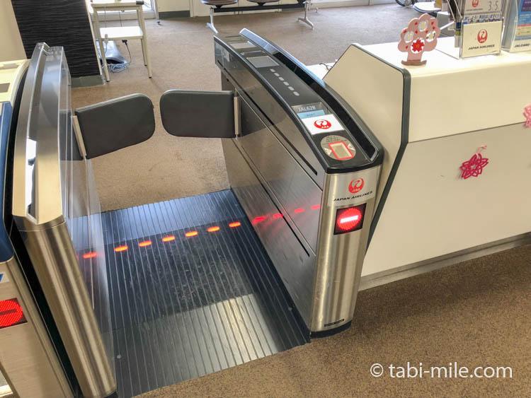 JAL搭乗時のゲート