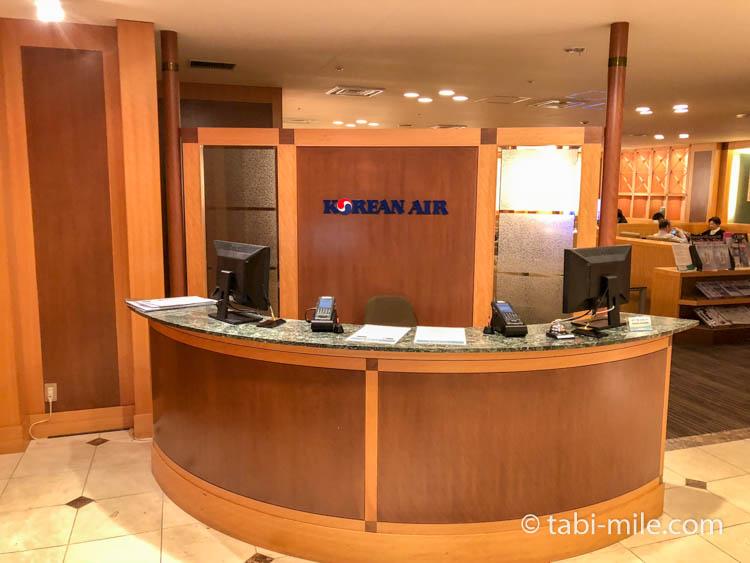 関西国際空港大韓航空KALラウンジ