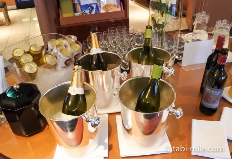 ウェスティンホテル東京 イブニングカクテル シャンパン ワイン