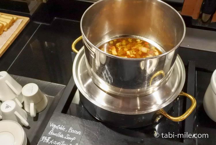 ウェスティンホテル東京 イブニングカクテル スープ