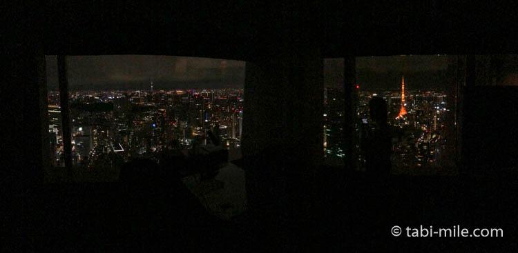 ザ・リッツ・カールトン東京 クラブルームからの夜景