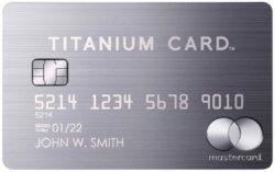 ラグジュアリーカードチタニウム券面画像