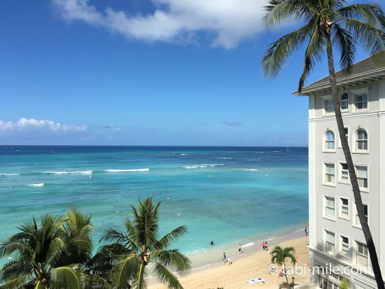 ハワイワイキキモアナサーフライダー 部屋 最高の景色