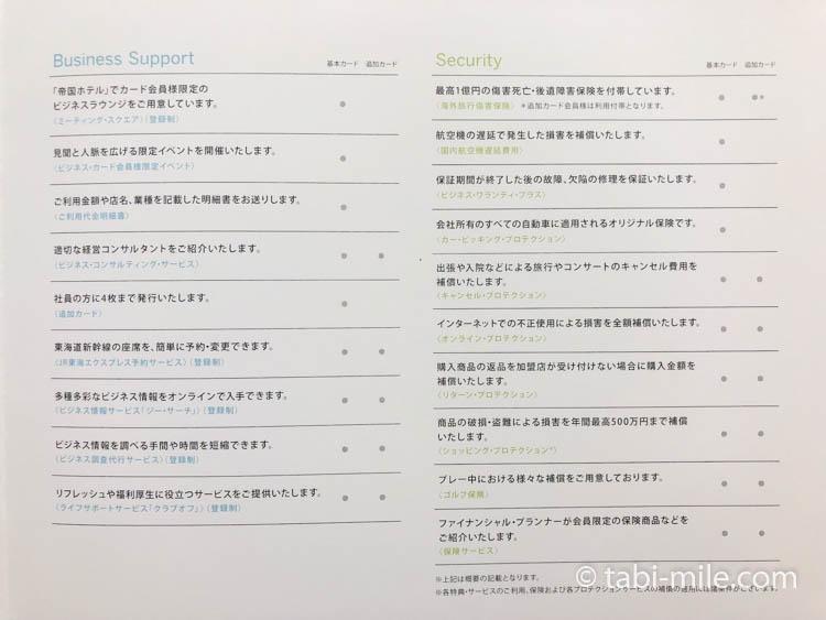 アメックスビジネスプラチナカード インビテーション