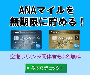 ANAアメックス300×250内部リンクバナー(無期限訴求バージョンブルー)
