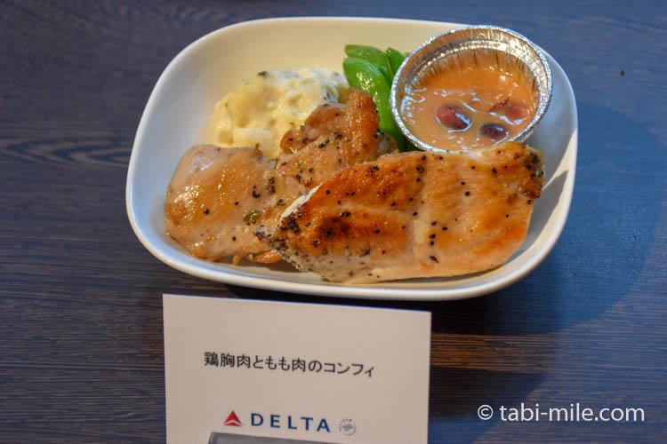 デルタ航空新キャビン・デルタプレミアムセレクト機内食05