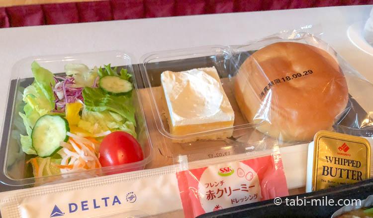 デルタ航空新キャビン・メインキャビン機内食試食10