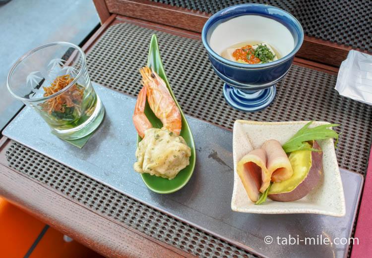 東京レストランバス 料理