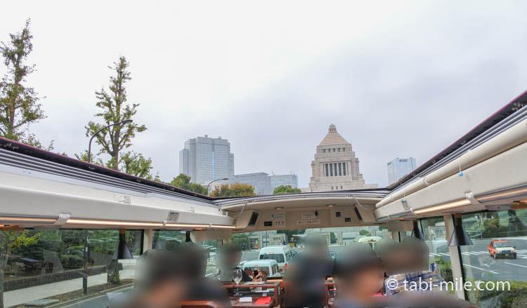 東京レストランバス 車窓の風景
