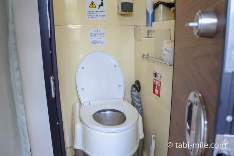 東京レストランバス 車内の様子