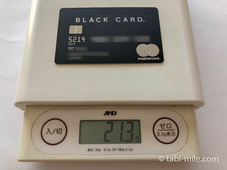 アメックスプラチナカード メタルカード