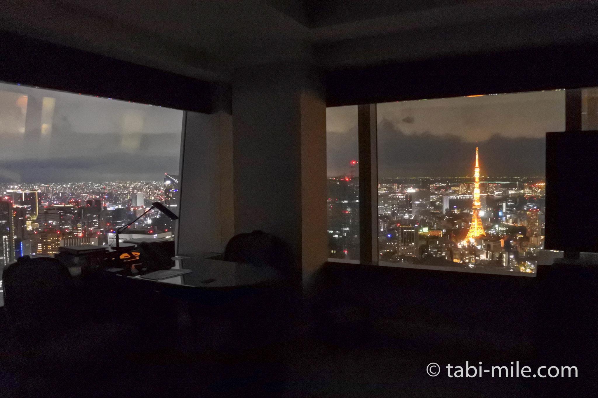 ザ・リッツ・カールトン東京のクラブルーム