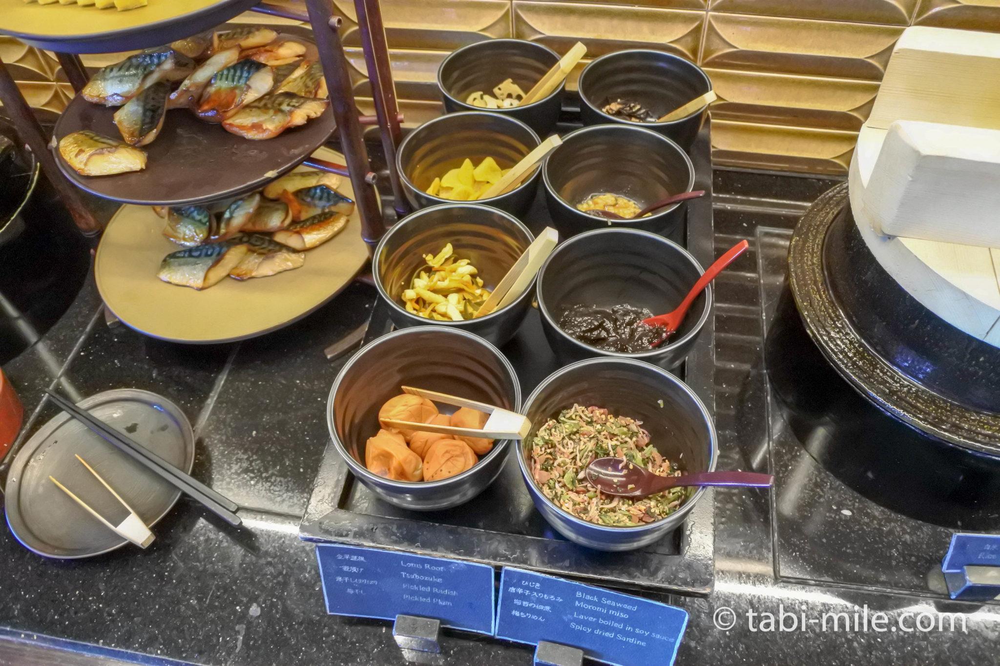リッツカールトン東京クラブラウンジ 朝食