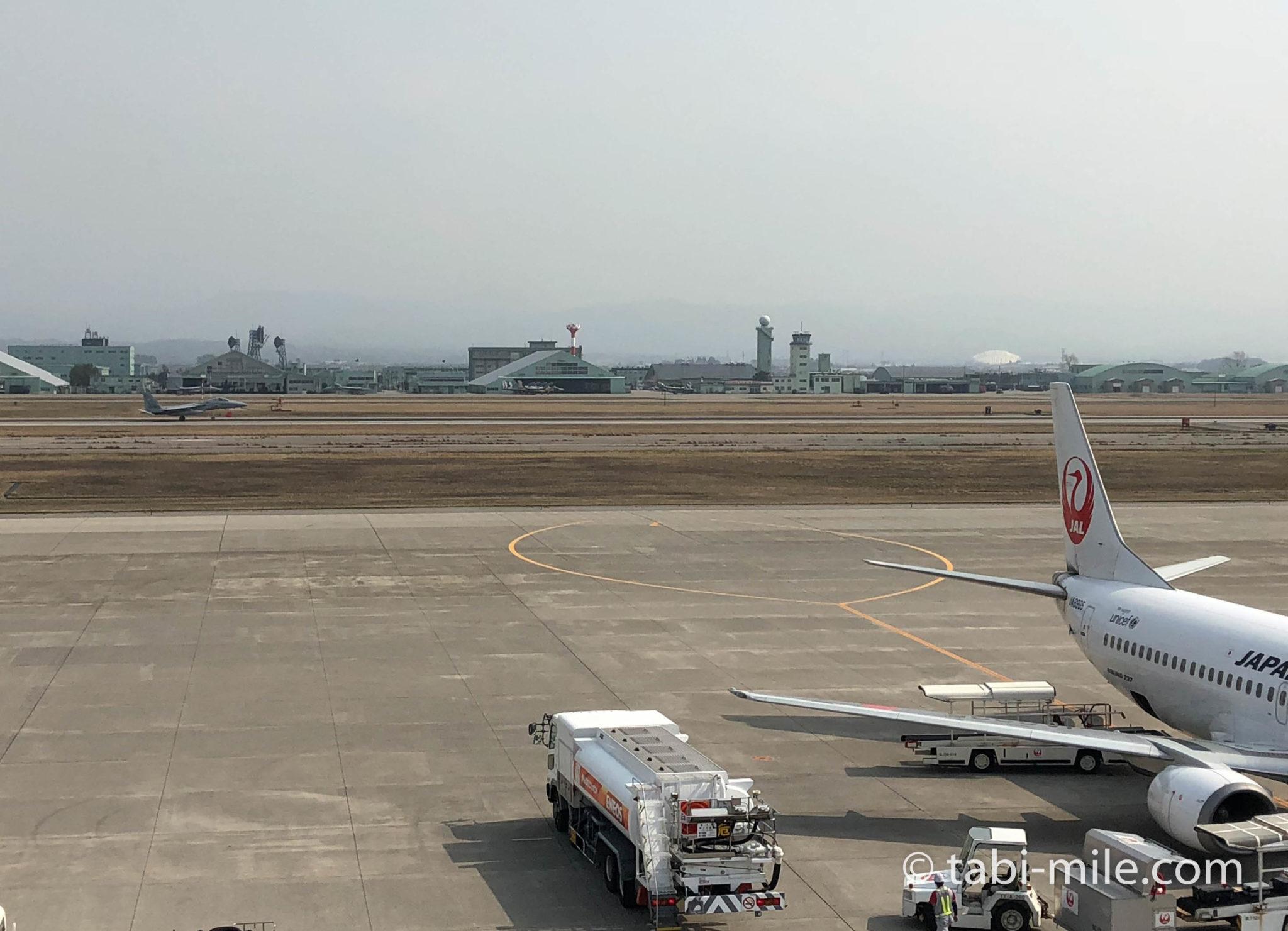 小松空港展望デッキ