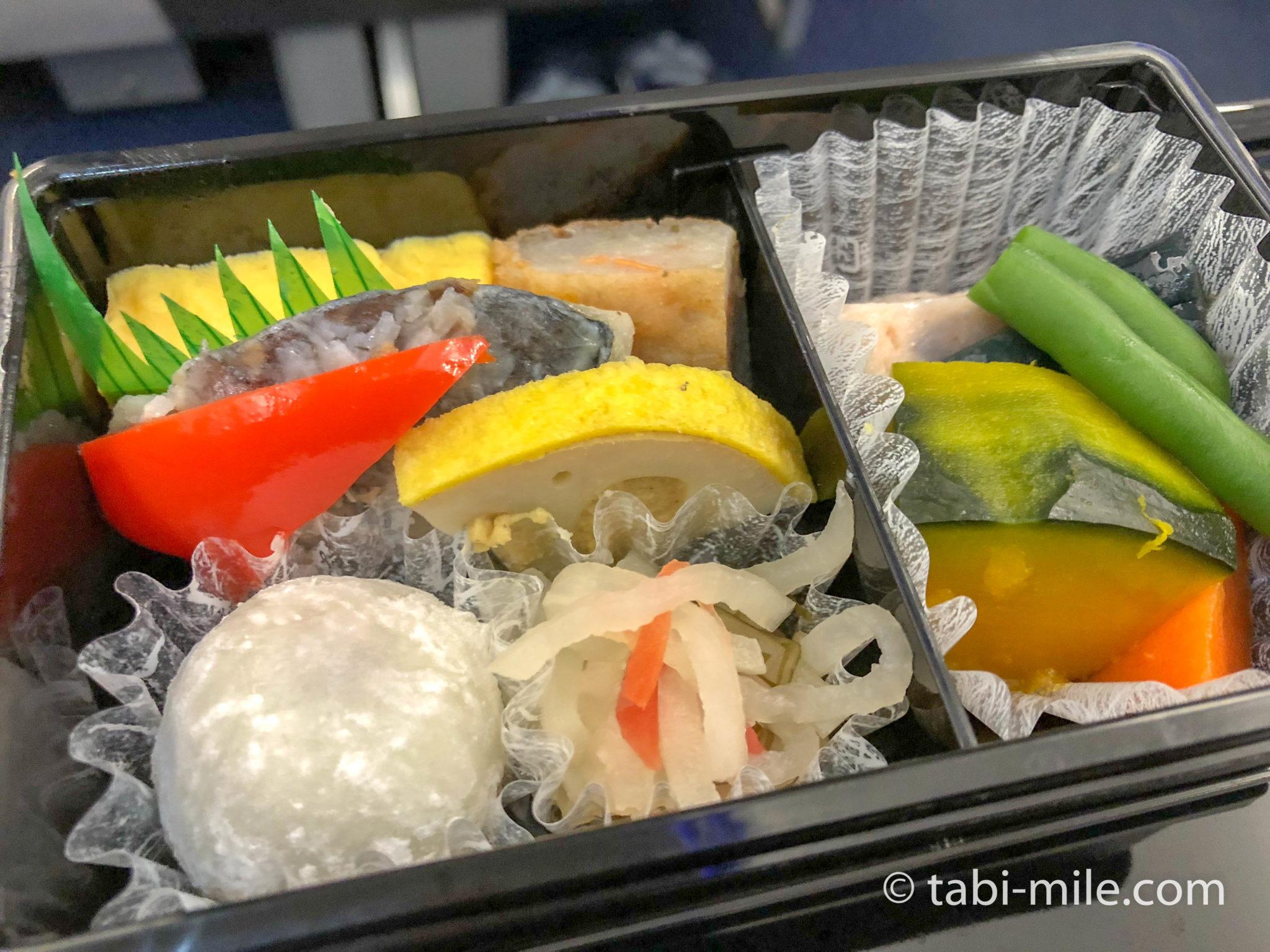 熊本空港からANAプレミアムクラス 機内食