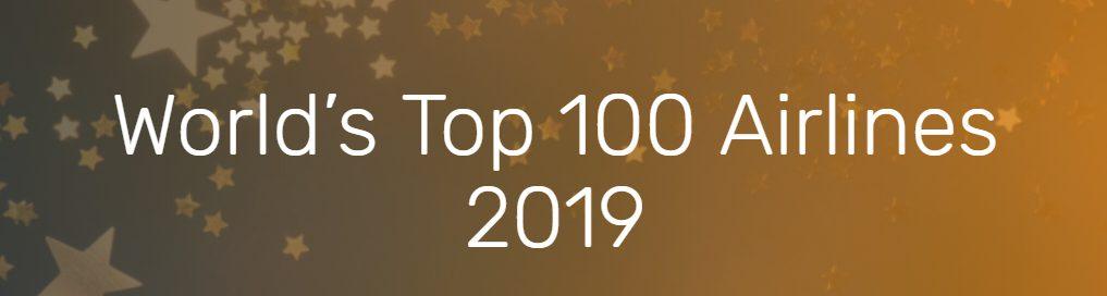 2019 World Airline Rankings