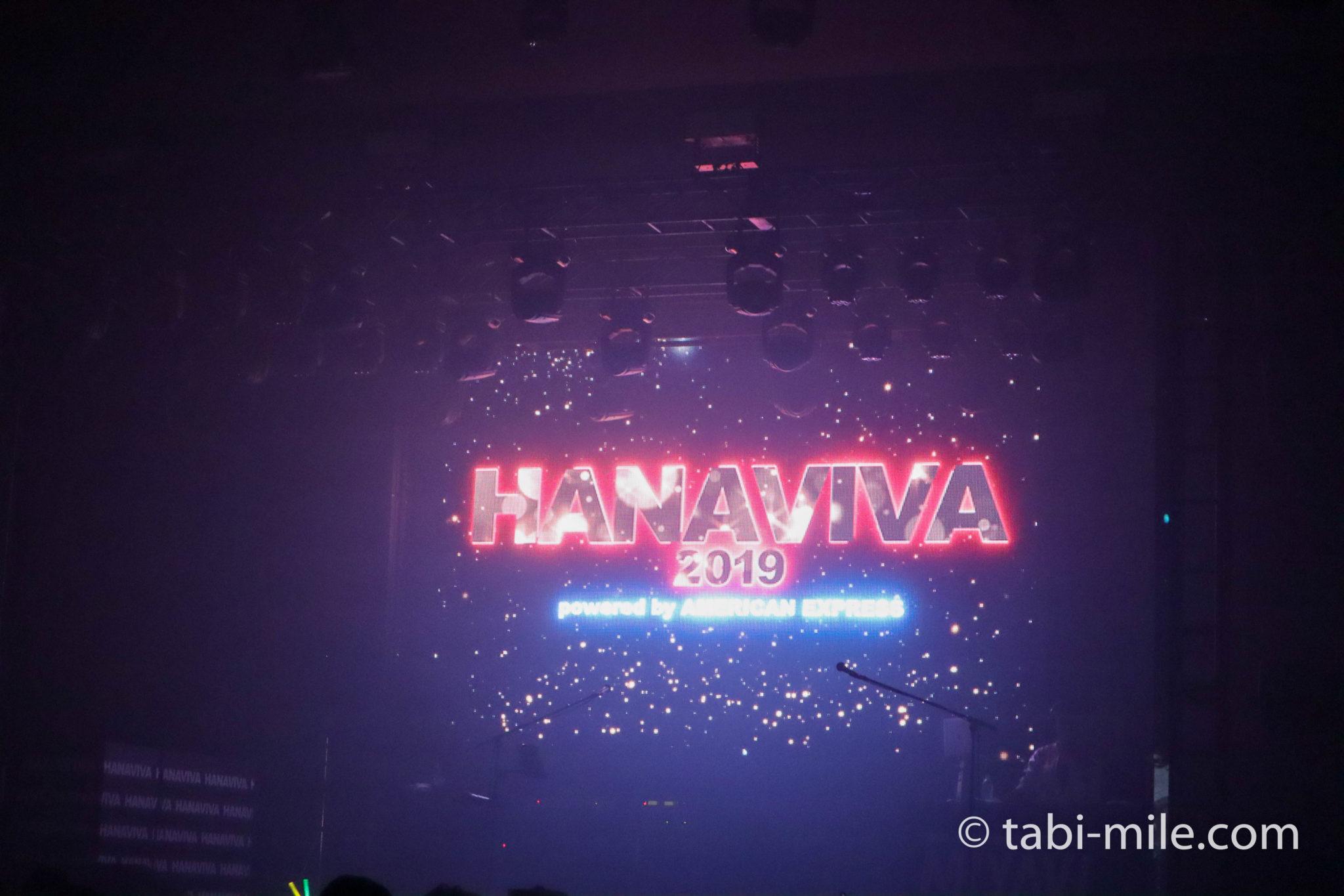 HANAVIVA 2019 アメックス花火