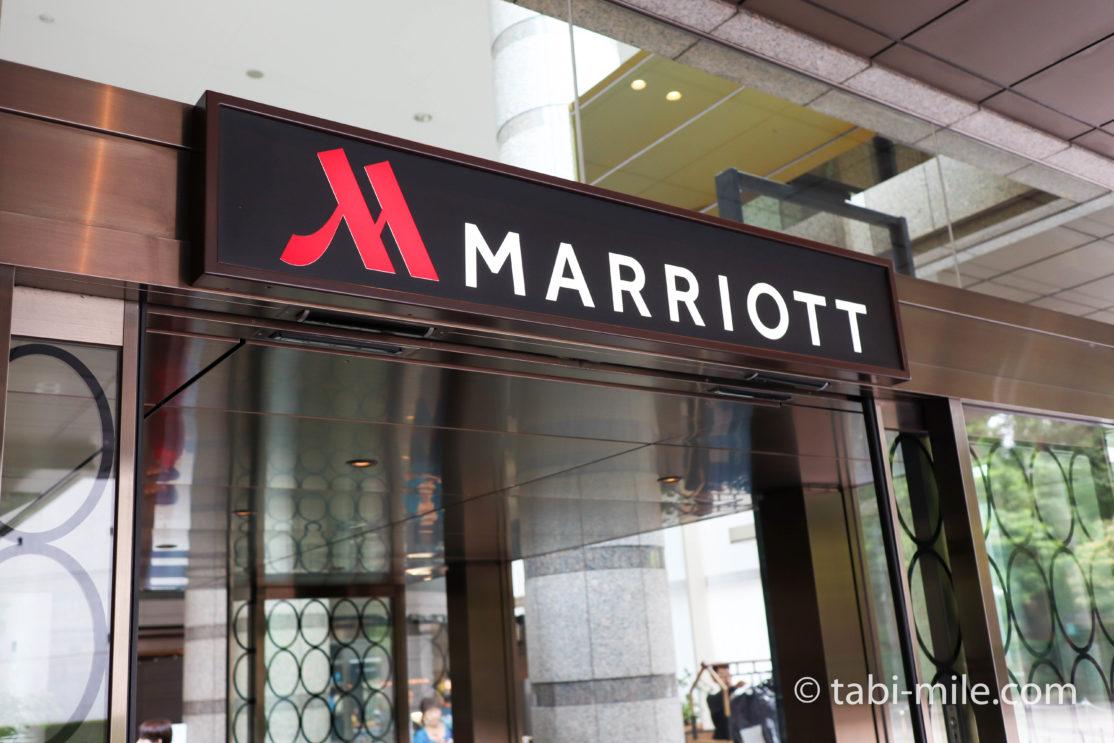 東京マリオットホテル 玄関