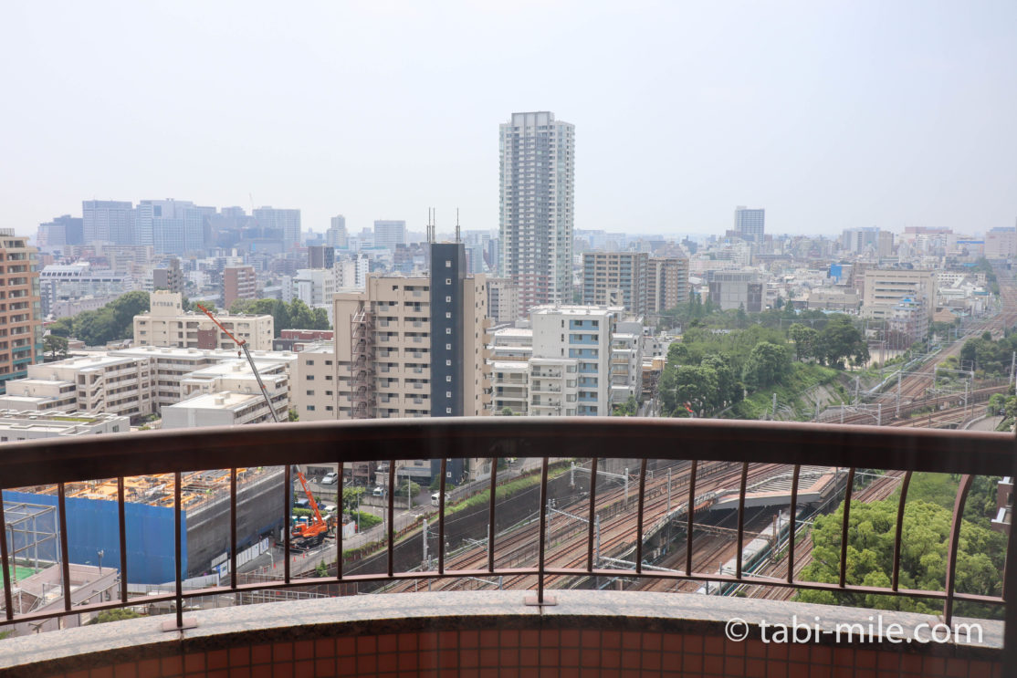 東京マリオットホテル デラックスキング 景色