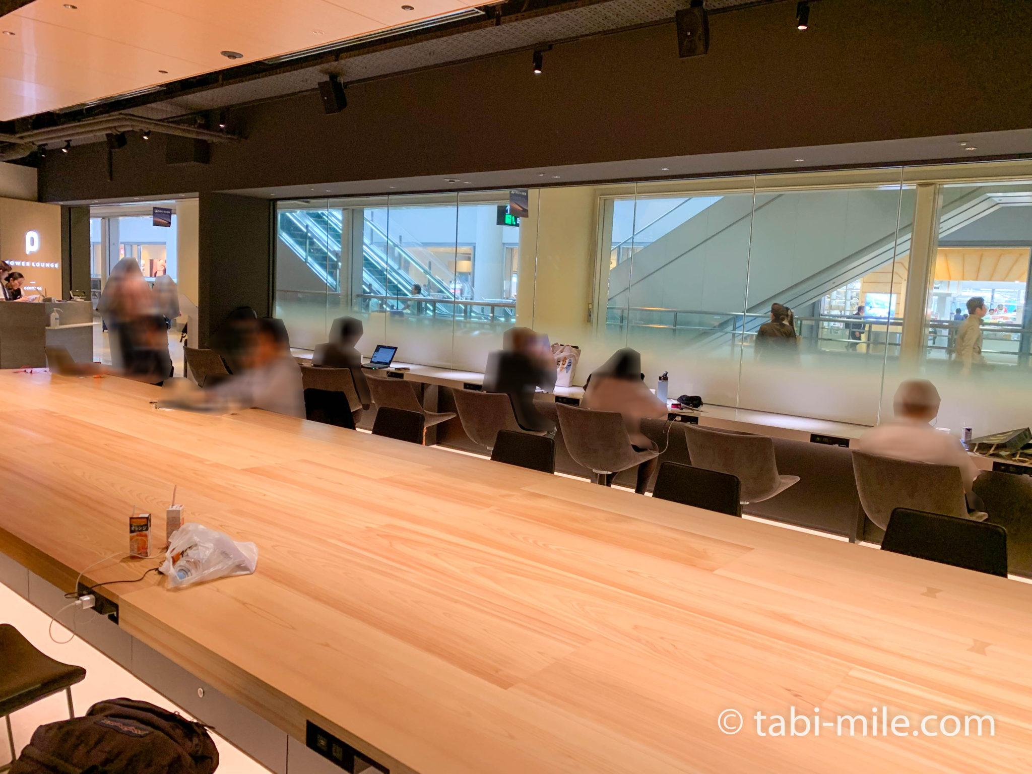 羽田空港第1ターミナルパワーラウンジセントラル