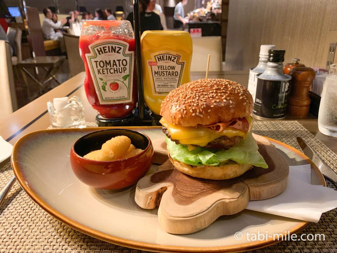 東京マリオットホテル ラウンジ&ダイニングG ディナー マリオットバーガー