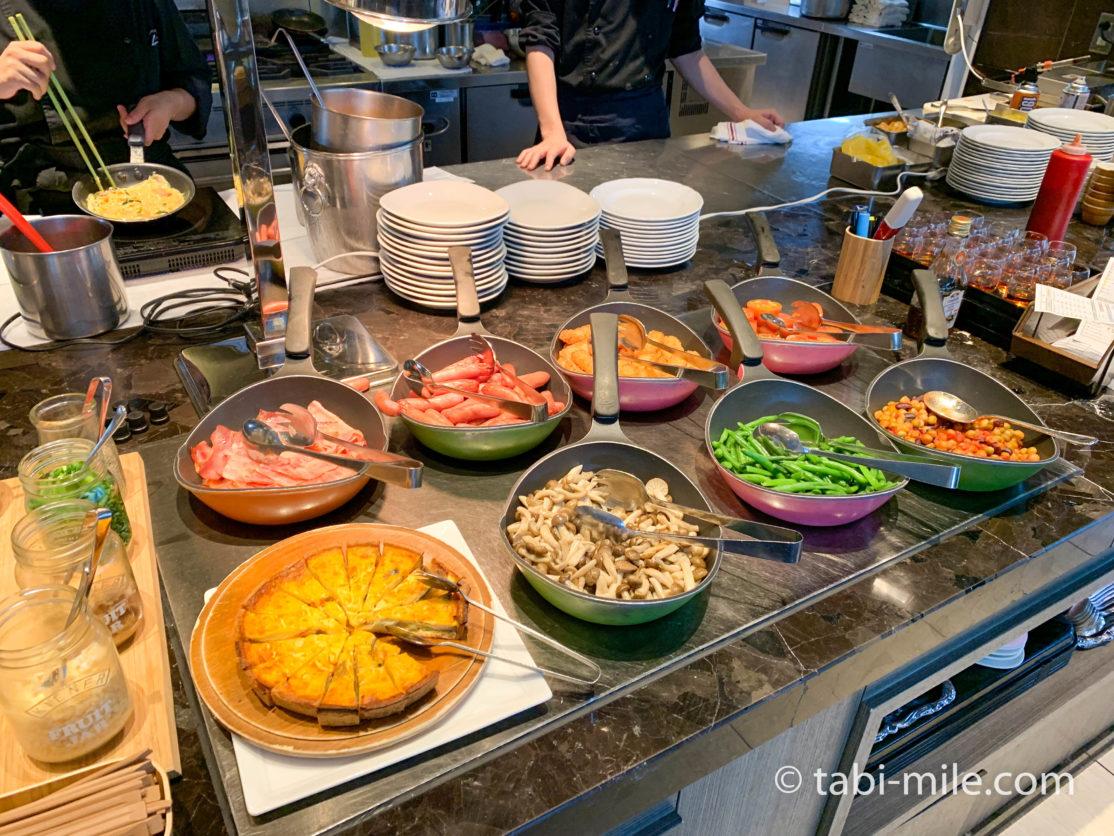 東京マリオットホテル ラウンジ&ダイニングG 朝食ビュッフェ