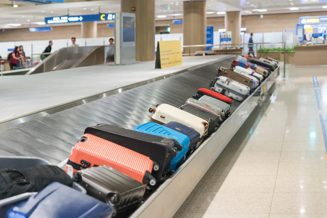 空港ターンテーブル