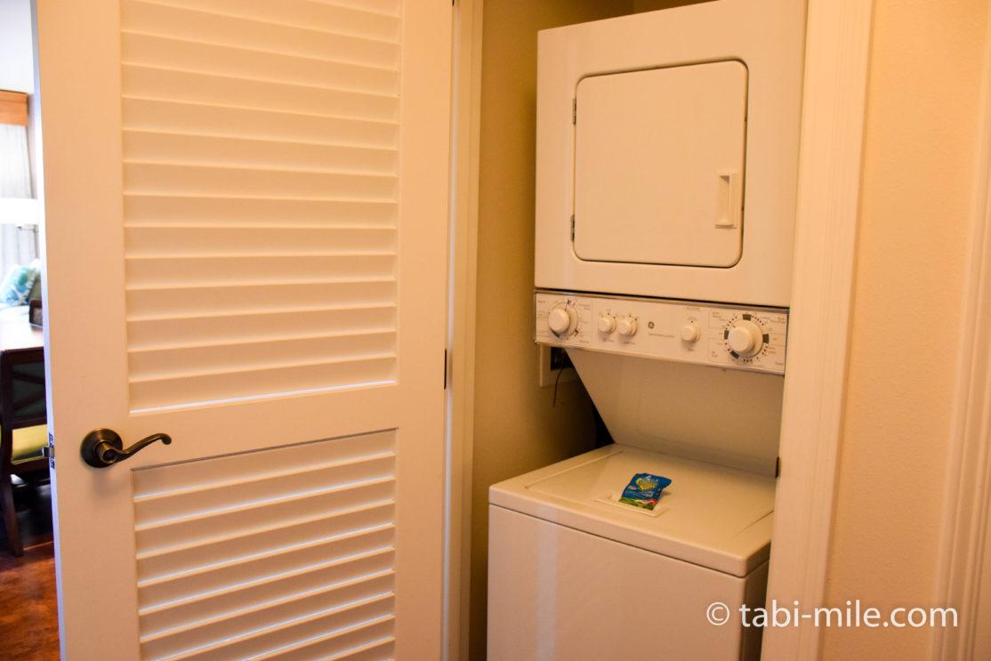 キングズランド・バイ・ヒルトン・グランド・バケーション 洗濯機&乾燥機