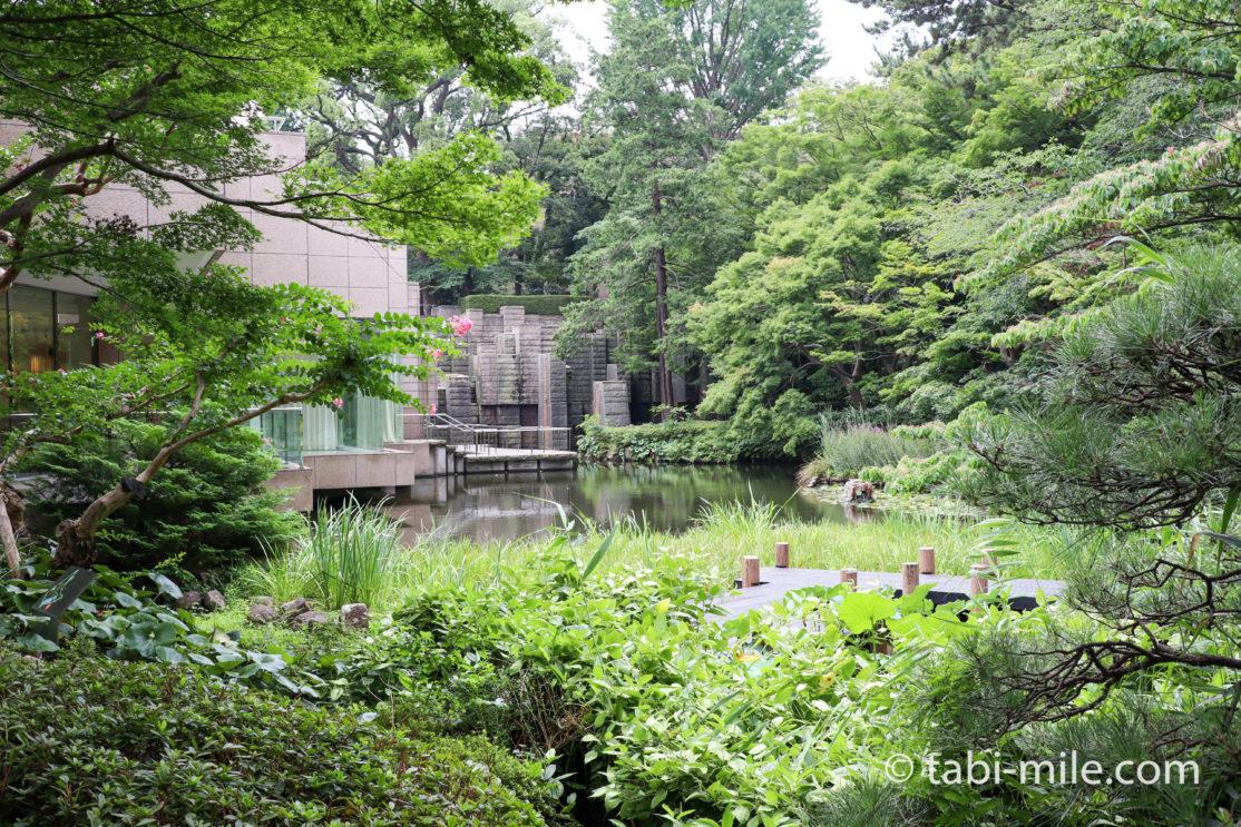 東京マリオットホテル 庭園