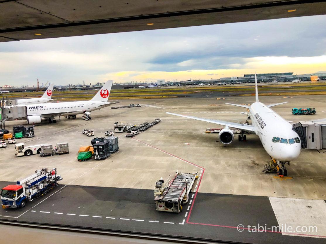 羽田空港JALサクララウンジ 北ウイング