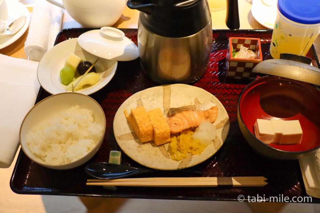 ザ・リッツ・カールトン京都 ルームサービス朝食