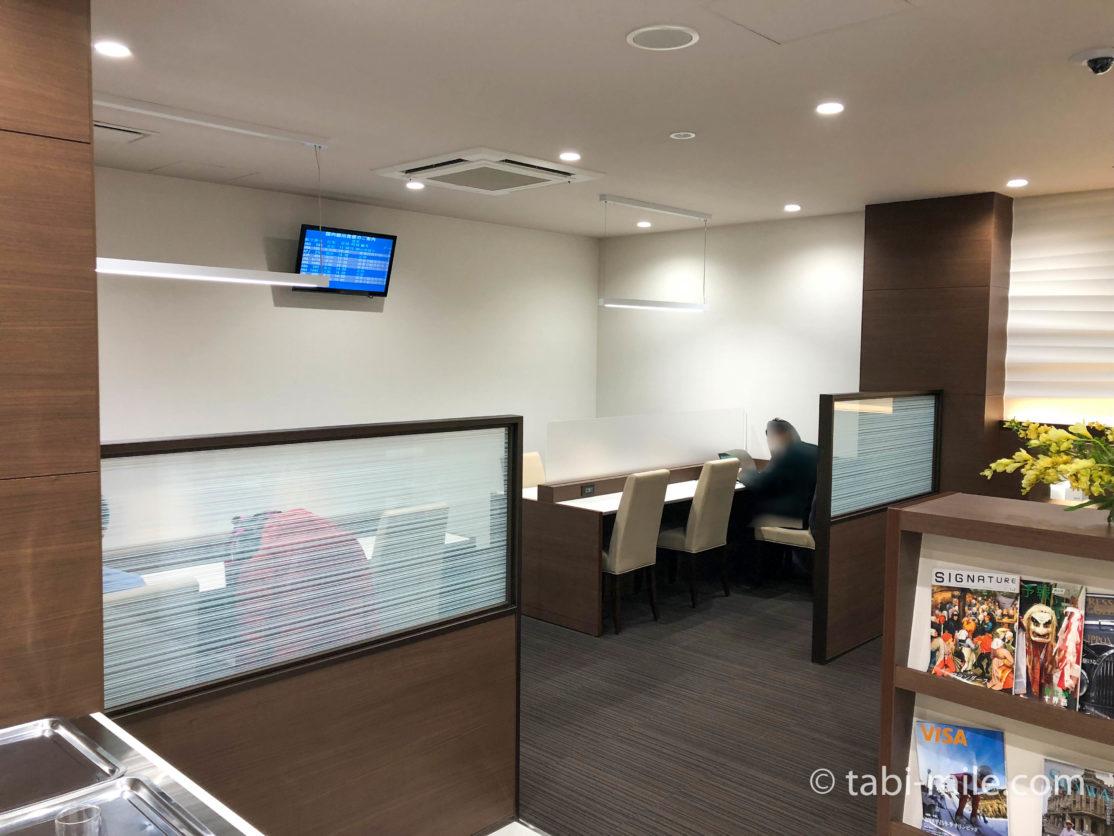松山空港ビジネスラウンジ