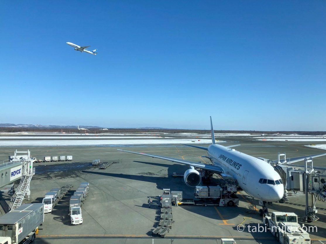 新千歳空港JALサクララウンジ