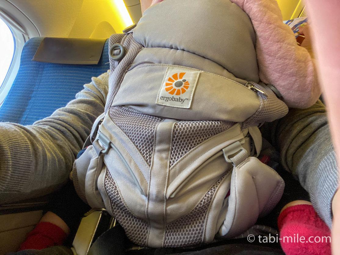 赤ちゃん連れフライトANA