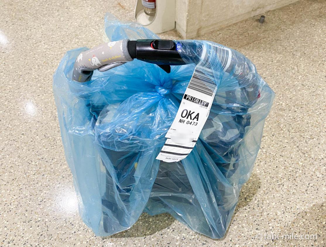 沖縄空港、ベビーカー預け荷物